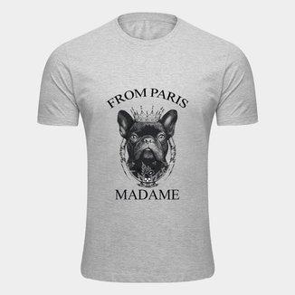 Camiseta Bulldog Francês Pet Masculina