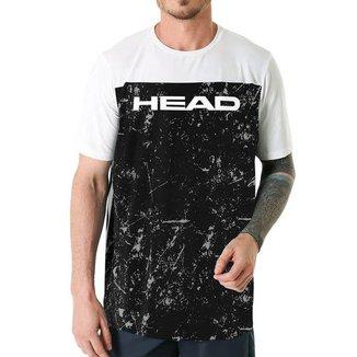 Camiseta c/ Recorte Frontal Cracked - Head