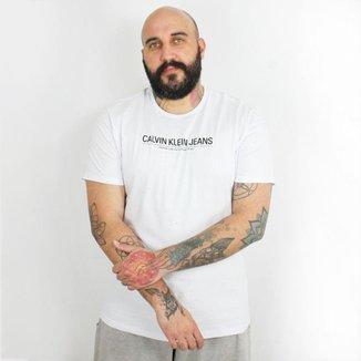 Camiseta Calvin Klein Jeans International Branca