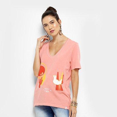 Camiseta Cantão Passarinho Feminina