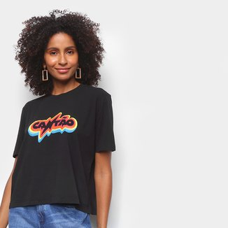 Camiseta Cantão Rainbow Feminina