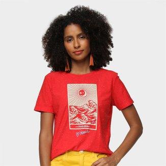 Camiseta Cantão Slim The Sea Feminina
