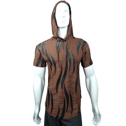 Camiseta Capuz  Garras Textura Detalhes Ranhuras Transparentes
