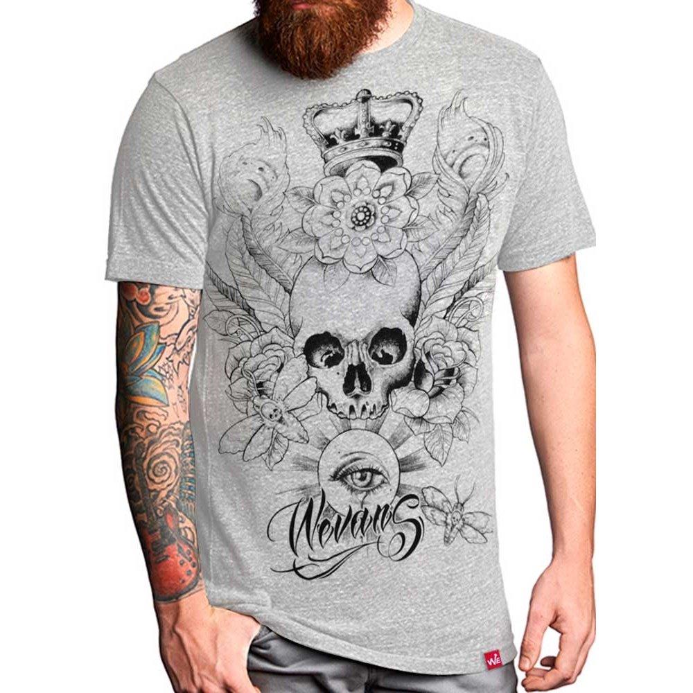 942e96475e52c Camiseta Caveira Crown Eye - Compre Agora