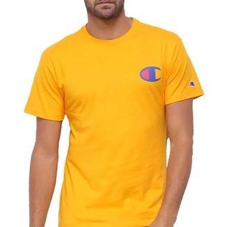 Camiseta Champion Logo C Ink Amarelo Gold