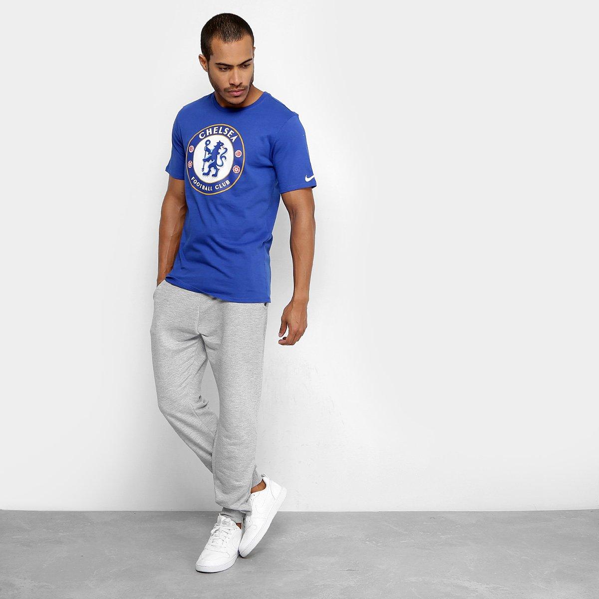 ee7e562a94 Camiseta Chelsea Evergreen Crest Nike Masculina - Compre Agora ...