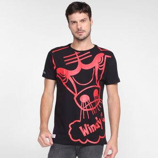Camiseta Chicago Bulls Mitchell & Ness Masculina