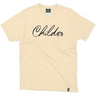 Camiseta Child Especial Cursive Masculino