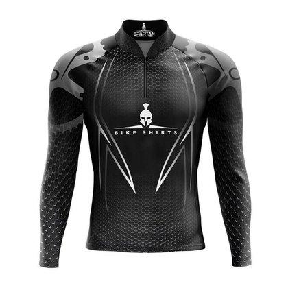 Camiseta Ciclismo Spartan Spt Manga Longa Ref 08