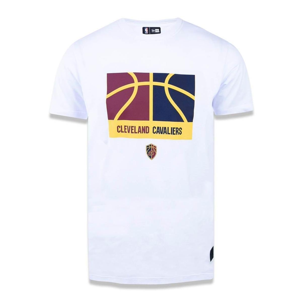 34951a3ae4fe7 Camiseta Cleveland Cavaliers NBA New Era Masculina - Branco - Compre Agora