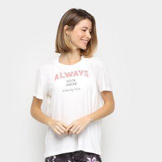 Camiseta Colcci Fitness Always Feminina