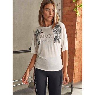 Camiseta Colcci Fitness Estampada 0345700334 - Off White - G