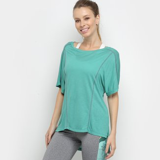 Camiseta Colcci Fitness Longline Feminina