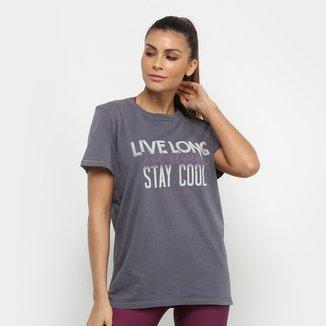 Camiseta Colcci Fitness  Stay Cool Feminina