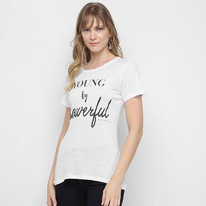 Camiseta Colcci Powerful Feminina