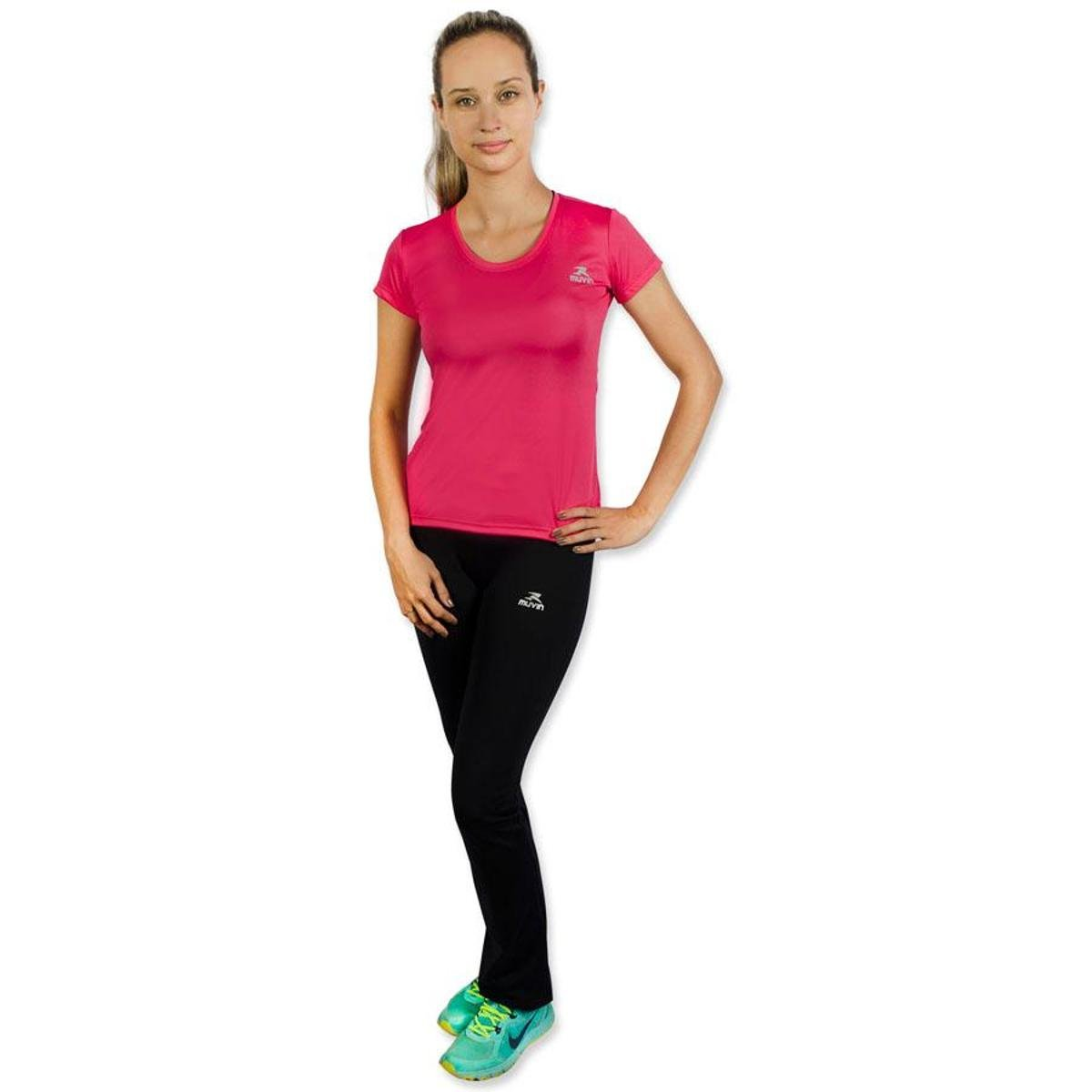 Camiseta Pink Color Camiseta Muvin 400 Color Workout CST SS Dry 1zqxxTdw