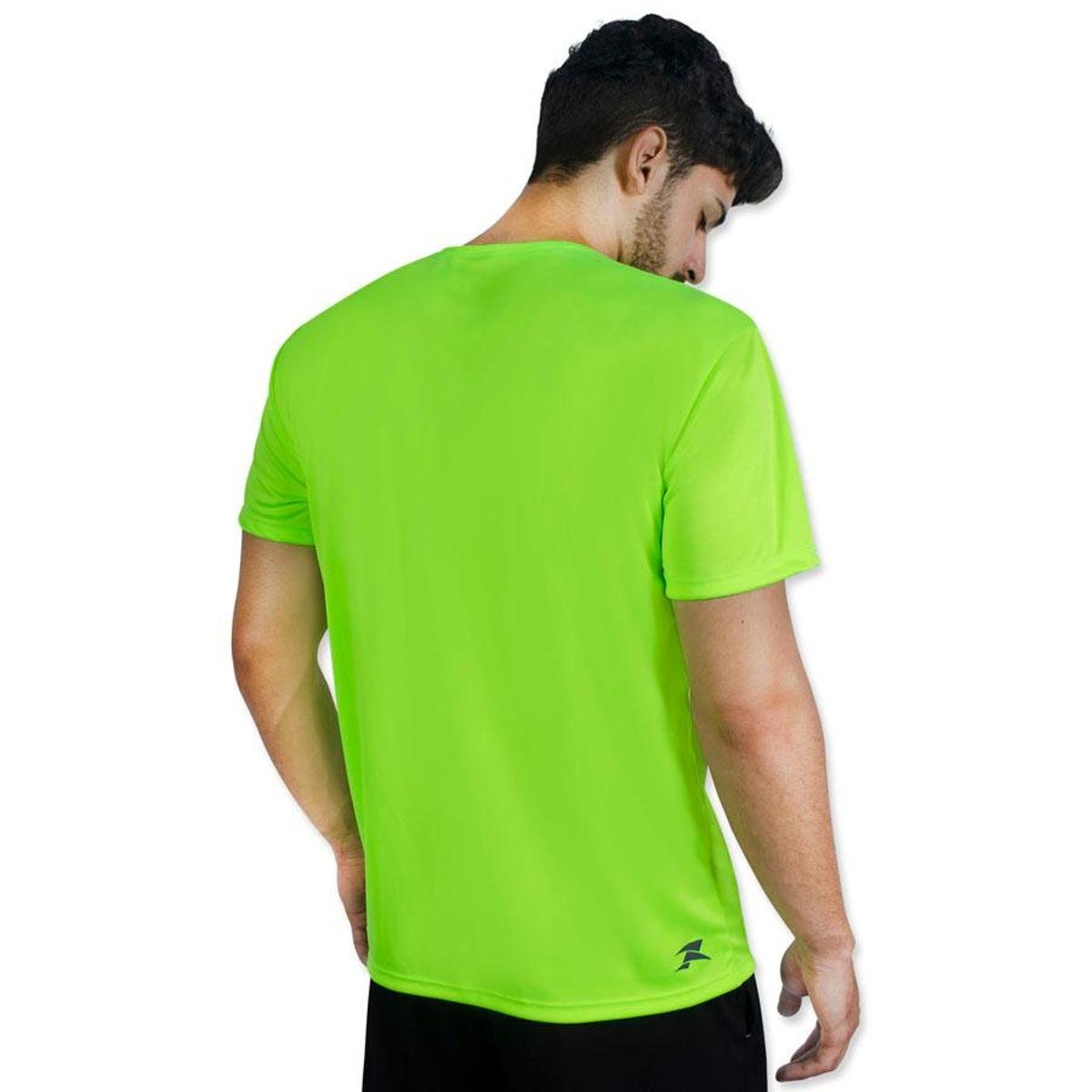 Camiseta Camiseta Limão Muvin Color SS Verde Color Workout Dry rr65Fq