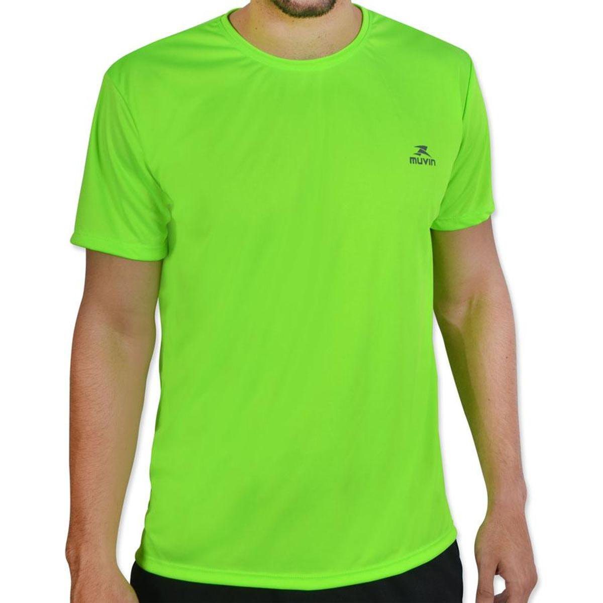 SS Workout Camiseta Verde Camiseta Color Dry Limão Color Muvin Dry WYxYHFcqng