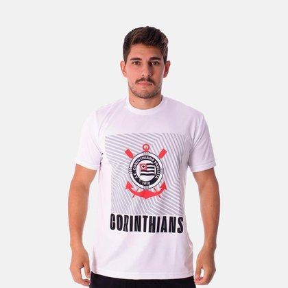 Camiseta Corinthians Retrô Geometric SCCP