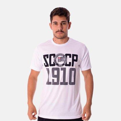 Camiseta Corinthians Retrô SCCP 1910