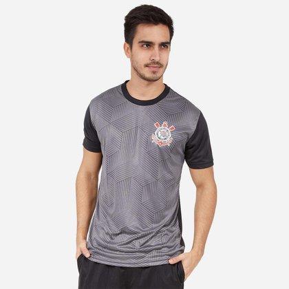 Camiseta Corinthians SPR Cubos Masculino