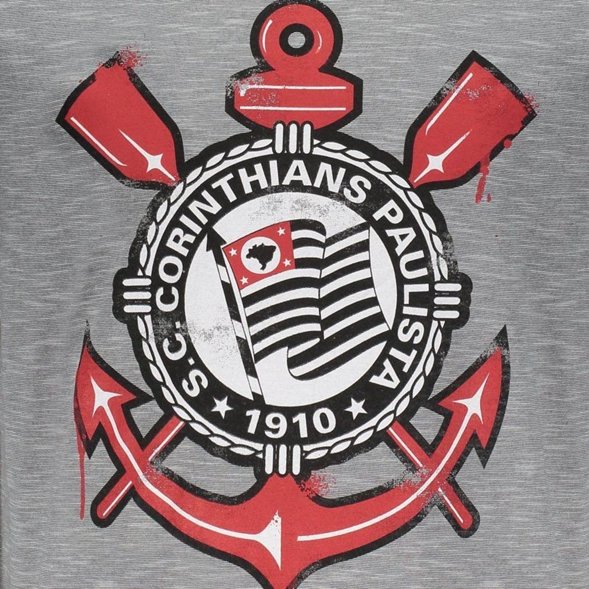 424f4400c2 Camiseta Corinthians Williams Branca - Cinza - Compre Agora