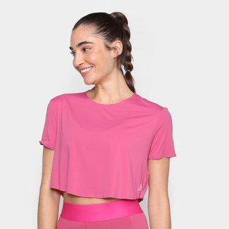 Camiseta Cropped Adidas Training Feminina