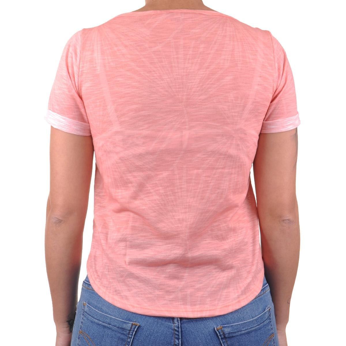Cropped Palm Camiseta Cropped Claro Feminino Rosa Camiseta Oneill Oneill qwSgtSf