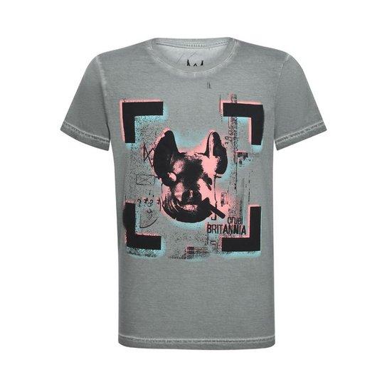 Camiseta Cruel Britannia Stoned  Watch Dogs Ubisoft - Cinza