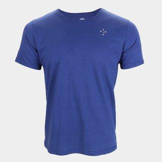 Camiseta Cruzeiro Emblema Masculina