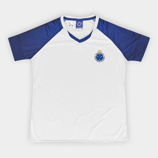 Camiseta Cruzeiro Fortune Feminina - Branco