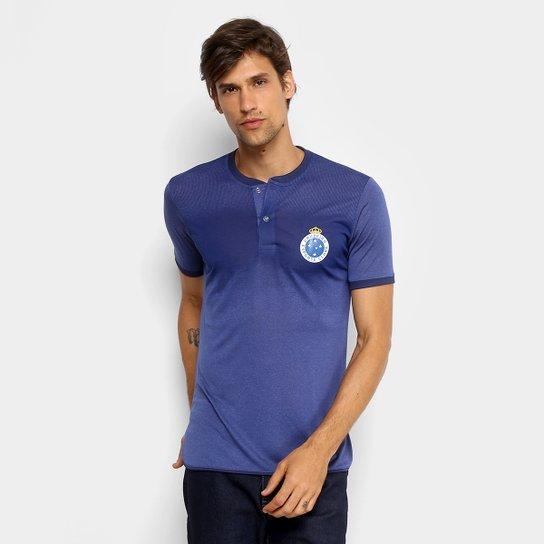 Camiseta Cruzeiro Gang Masculina - Azul