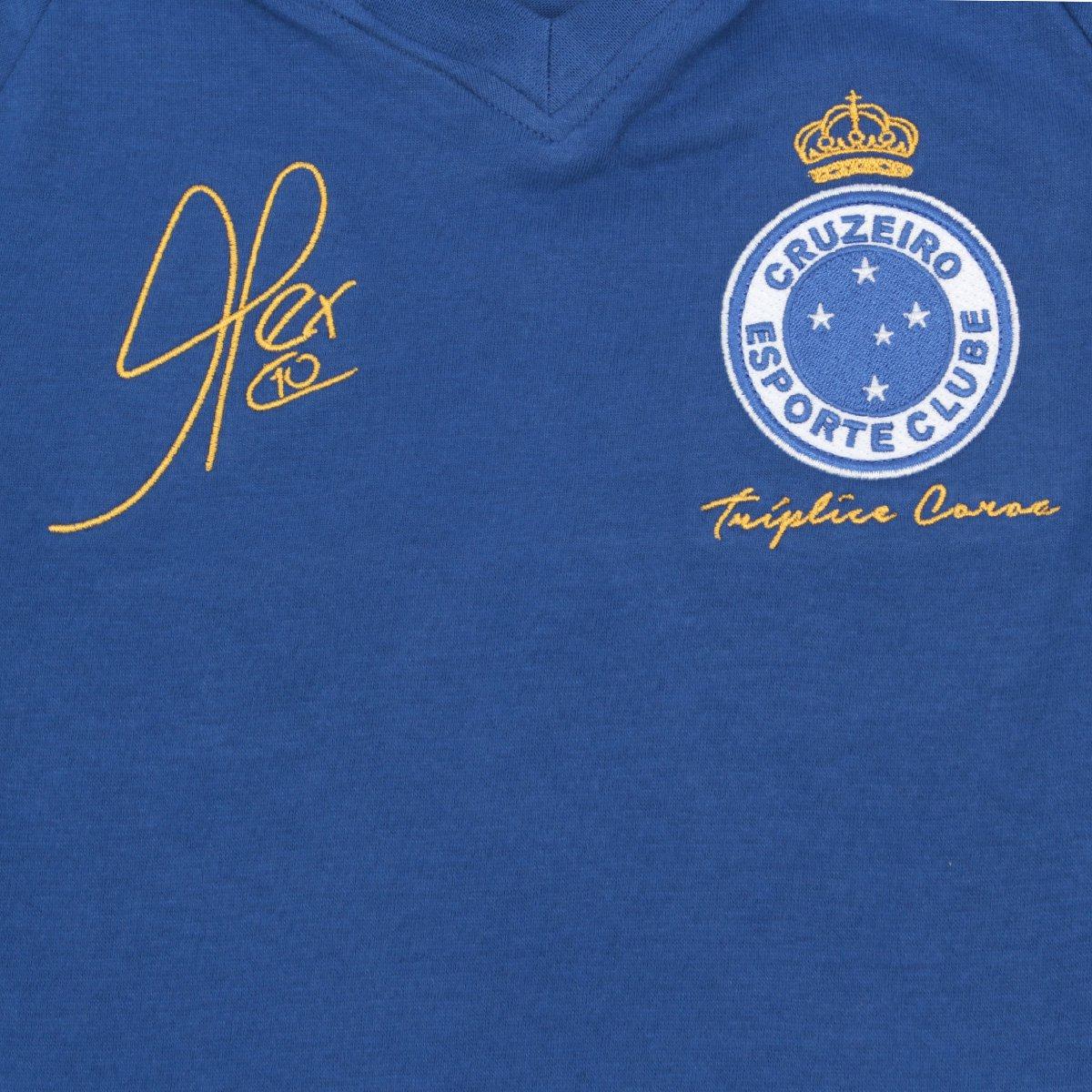 ... Camiseta Cruzeiro Juvenil Retrô Mania 2003 Alex Triplice Coroa ... 5485799a1c4ab