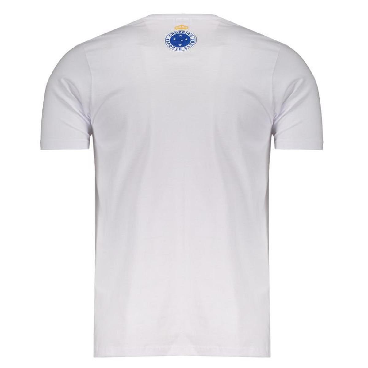 Camiseta Cruzeiro La Bestia Class Masculina - Branco - Compre Agora ... a2d8706019e1d