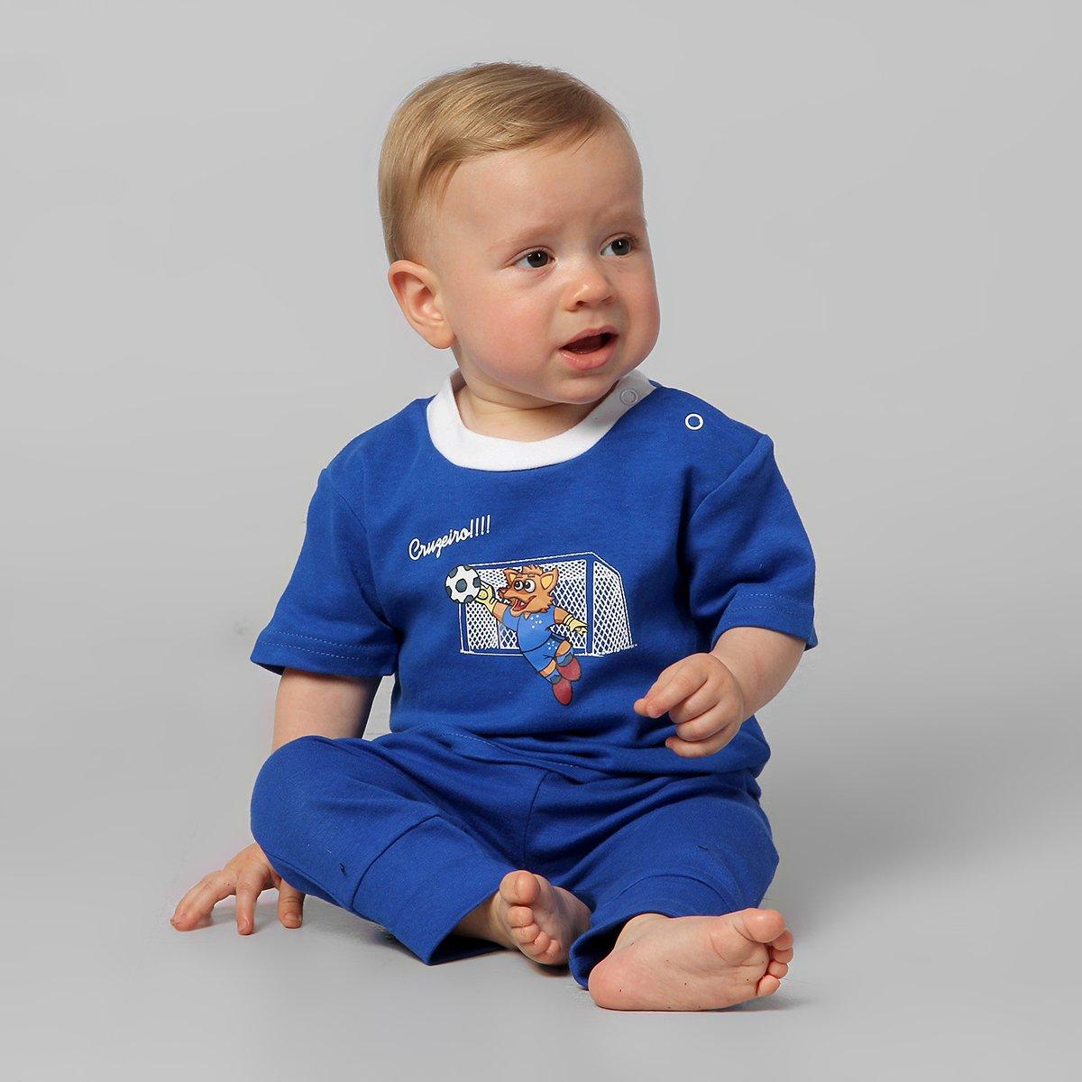 Camiseta Cruzeiro Raposa Infantil - Compre Agora  e81446cb64e6b