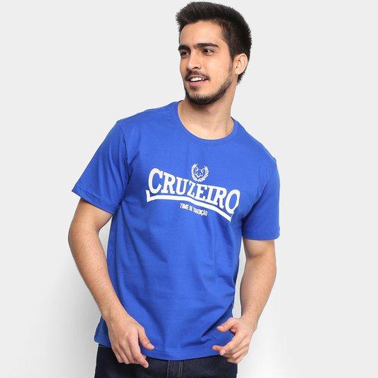 Camiseta Cruzeiro Time de tradição Masculina - Azul