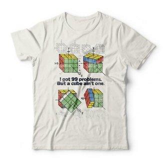 Camiseta Cubo Mágico Studio Geek