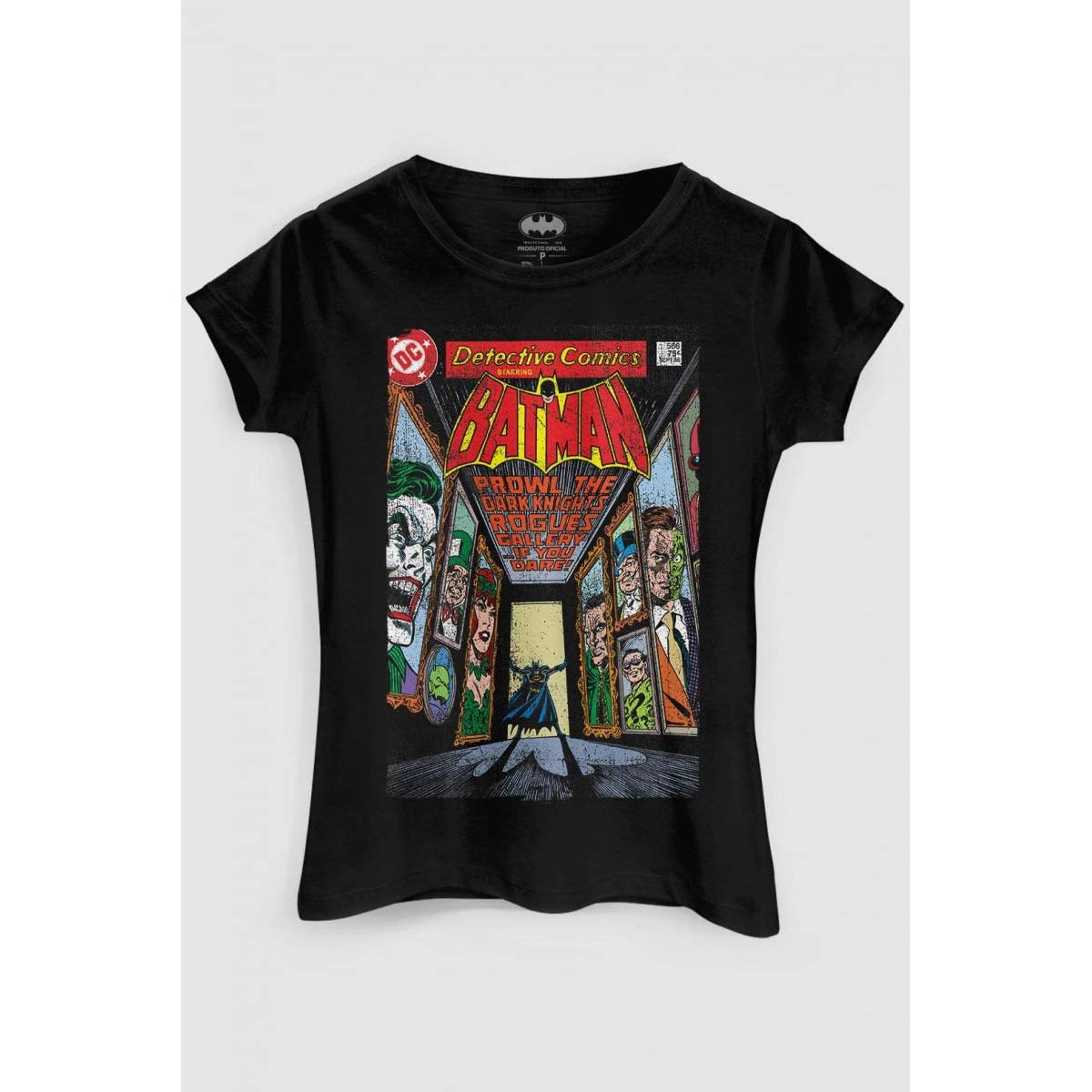 Comics DC Camiseta Batman DC Camiseta Rogues Gallery Preto bandUP Comics Batman Xq7ZwCH7