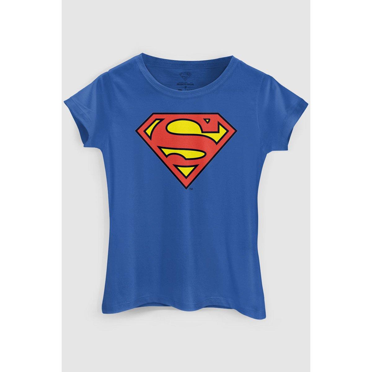 Comics Camiseta bandUP Superman DC Azul DC Oficial Camiseta q7xw7r6t8