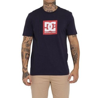 Camiseta DC Shoes DC Square Star Masculina