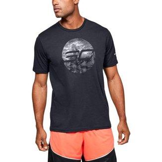 Camiseta de Basquete Under Armour SC30 Logo Masculina