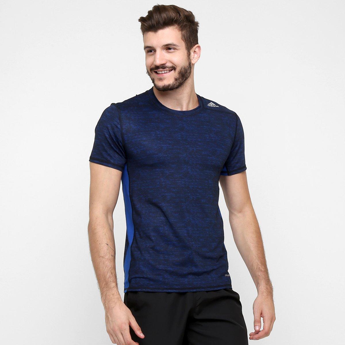 727d84cd26cae Camiseta de Compressão Adidas Tf Base Fitted Masculina - Compre Agora