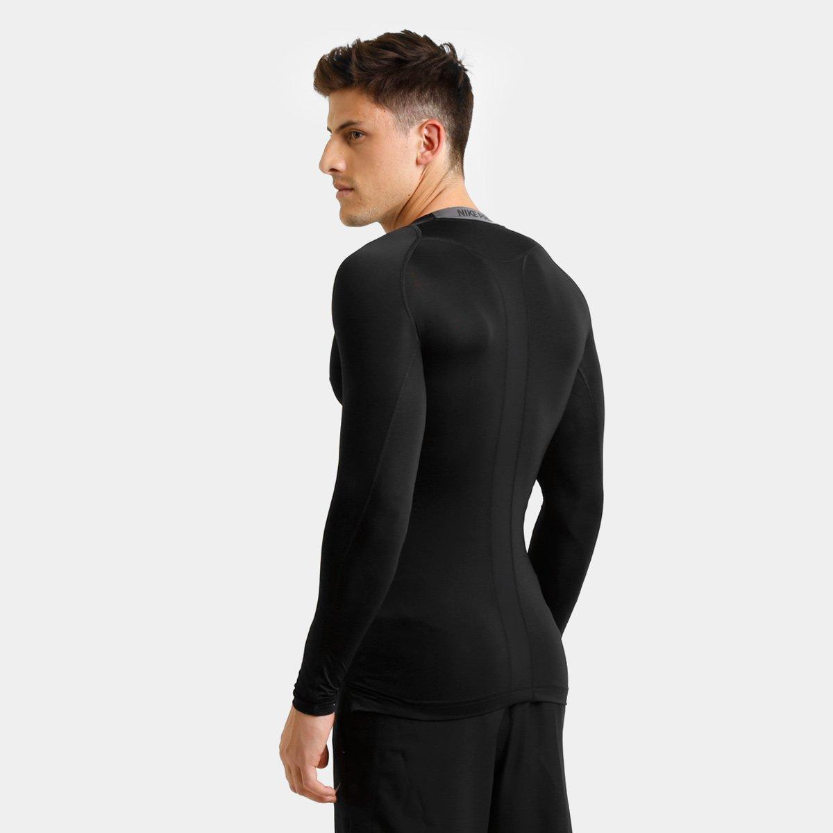 Camiseta de Compressão Nike Pro Cool Manga Longa Masculina - Compre ... 2395c01d94e93
