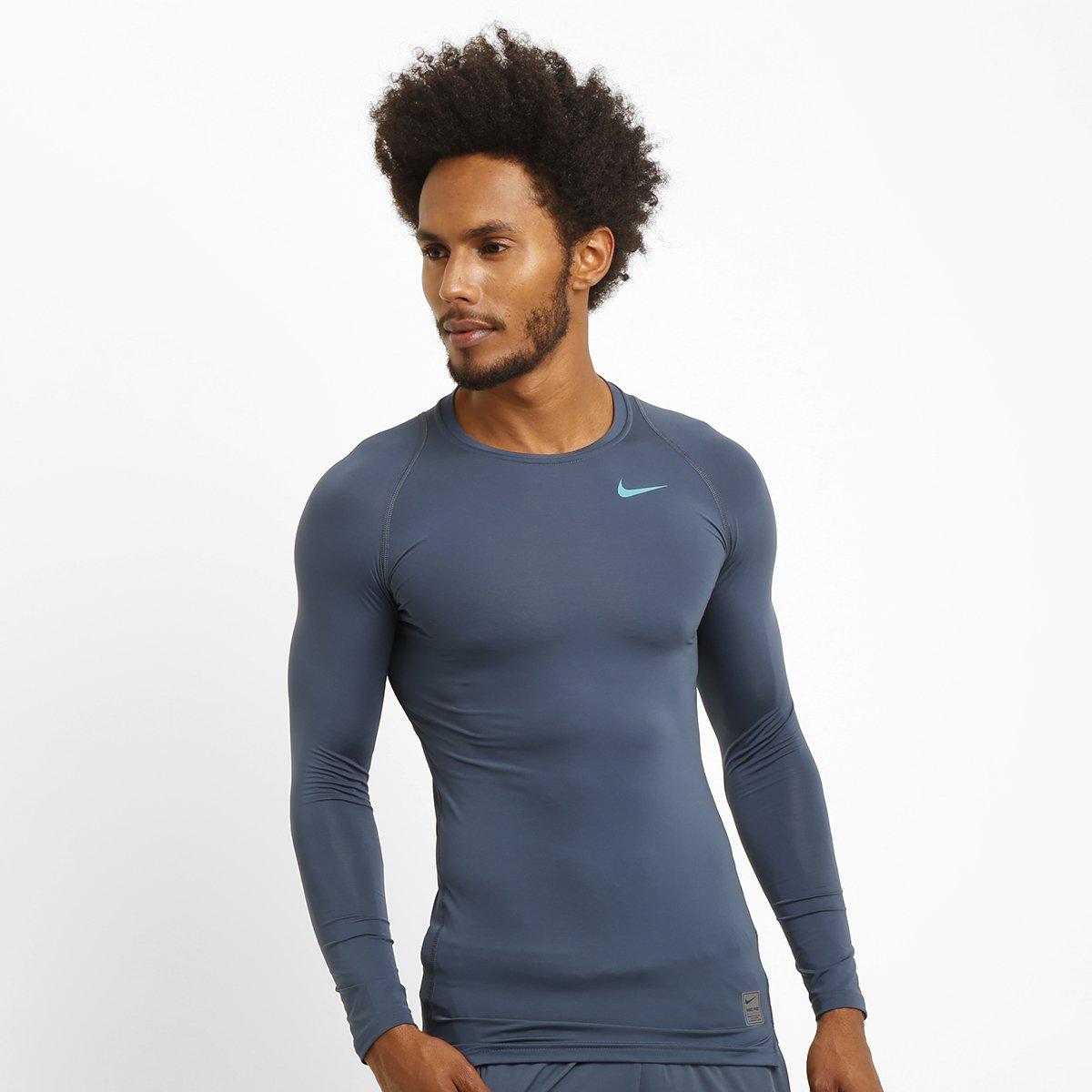 f034a93583721 Camiseta de Compressão Nike Pro Cool M L - Compre Agora