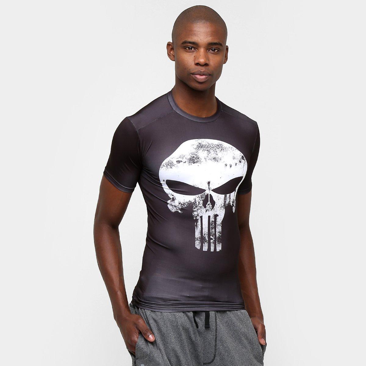 87393420d3 Camiseta de Compressão Under Armour Alter Ego Punisher Masculina - Compre  Agora