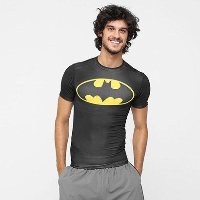 Camiseta de Compressão Under Armour Batman Masculina - Masculino