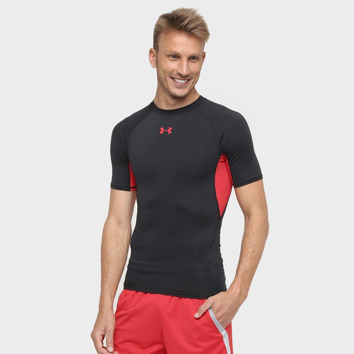 88e1b5d654181 Camiseta de Compressão Under Armour Heatgear Masculina - Compre Agora