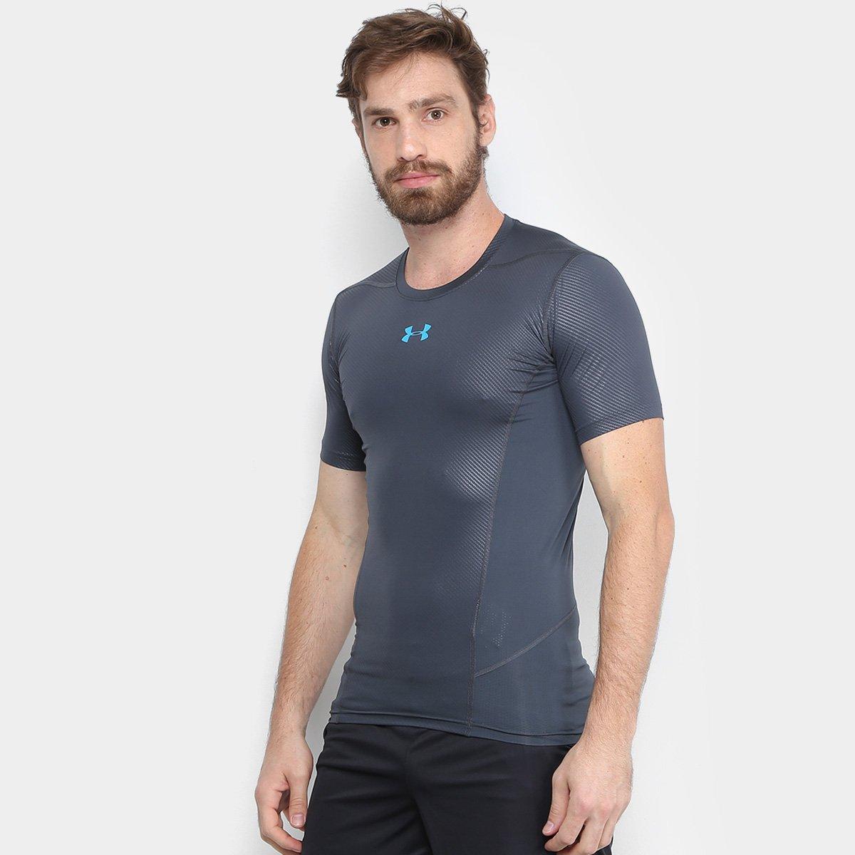 37a09f1de0484 Camiseta de Compressão Under Armour Hg Supervent 2.0 Ss Masculina - Compre  Agora