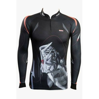 Camiseta de Pesca Black Monster Brk - Masculino