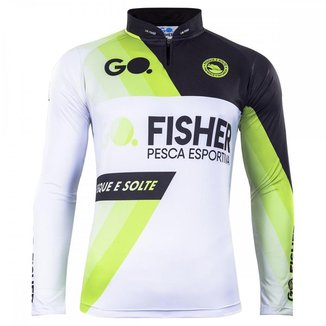 Camiseta De Pesca Go Fisher Manga Longa Sport